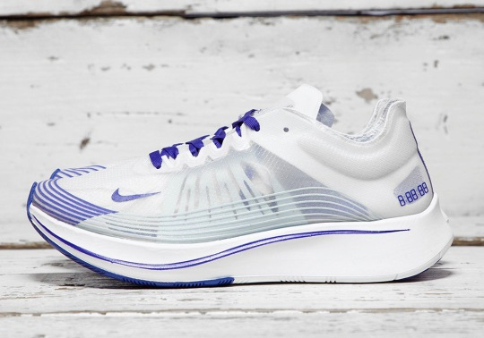 "The Nike Zoom Fly SP Just Released In A ""Royal"" Colorway"