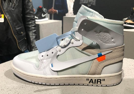 Detailed Look At The OFF WHITE x Air Jordan 1 In White