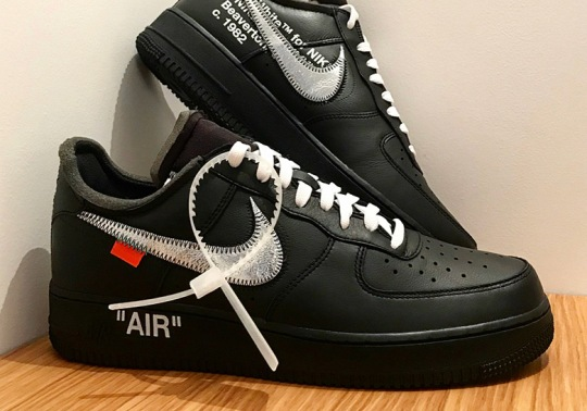 "OFF WHITE x Nike Air Force 1 ""Virgil x MOMA"" May Release In February"