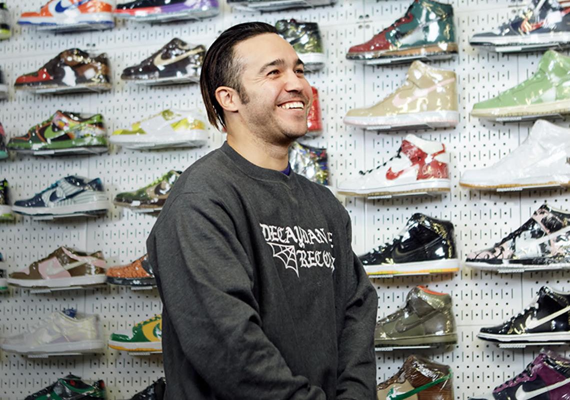 Complex Sneaker Shopping Pete Wentz Stadium Goods