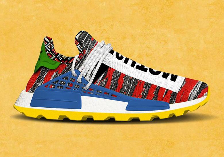 484f1dcc3a6ef Pharrell adidas NMD SOLAR Hu Release Info