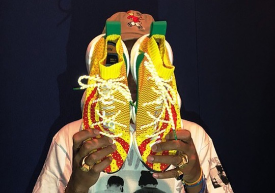 Pharrell Reveals Upcoming adidas Boost You Wear Sneaker