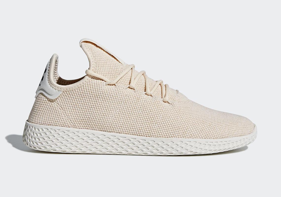 Pharrell's adidas Tennis Hu Is Coming Soon In Light Tan