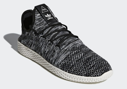 "Pharrell x adidas Tennis Hu ""Oreo"" Arriving In Spring"