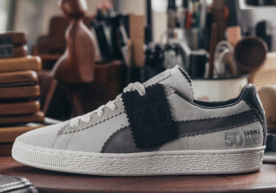 Puma And Michael Lau Team Up For a Sample Suede