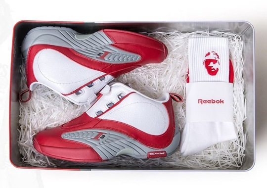7ae94c1294dd7e Reebok Brings Back The Answer IV In White Red With Limited Edition  Exclusive Release In