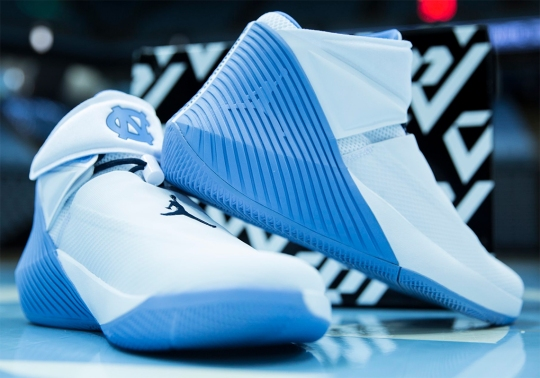 Russell Westbrook's Jordan Why Not Zer0.1 Gets The UNC PE Treatment