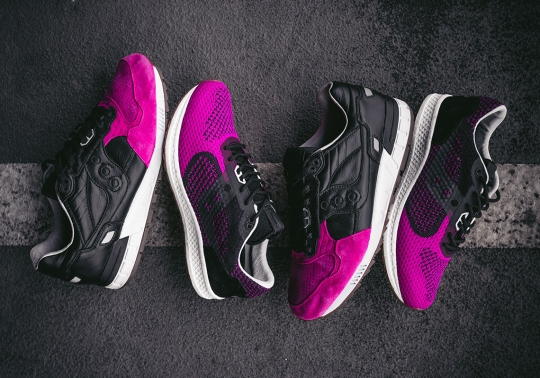 "Solebox Brings Back The ""Pink Devil"" With Upcoming Saucony Shadow 5000 EVR"