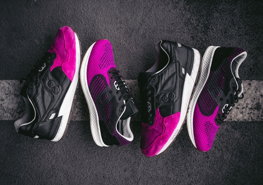 """Solebox Brings Back The """"Pink Devil"""" With Upcoming Saucony Shadow 5000 EVR"""