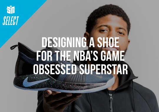 Designing The Nike PG 2 For The NBA's Video Game Obsessed Superstar