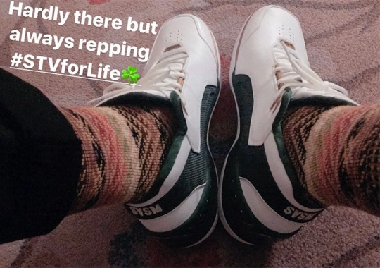 "LeBron James Hints At First Ever Release Of Nike Air Zoom Generation ""SVSM"""