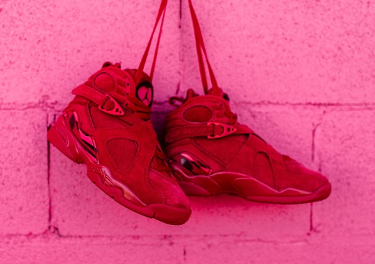 "Detailed Look At The Air Jordan 8 ""Valentine's Day"""