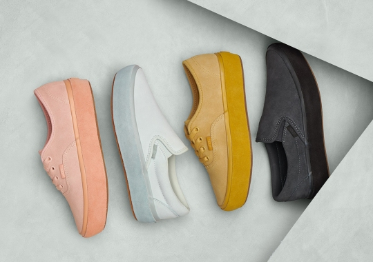 Vans Adds A Suede Platform Outsole To Two Classic Silhouettes