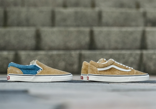 """Vans And BILLY'S TOKYO Set To Release A """"Fuzzy Suede Pack"""""""