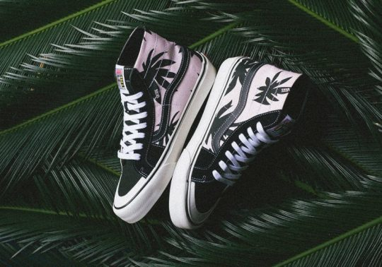 Vans Brings Back The Palm Leaf Graphics On The Sk8-Hi