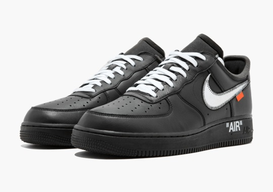 Detailed Look At The Virgil x MoMA x Nike Air Force 1 Low