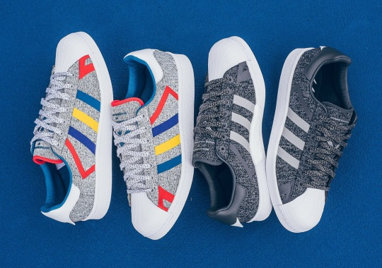 White Mountaineering Releases Two New adidas Superstar BOOST Colorways