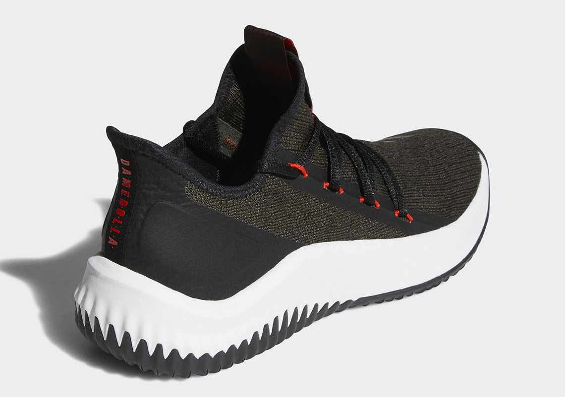low priced 2ecbd 6f1d0 adidas Dame D.O.L.L.A.. Release Date March 3, 2018 125. Color Night CargoCore  BlackHi-Res Red