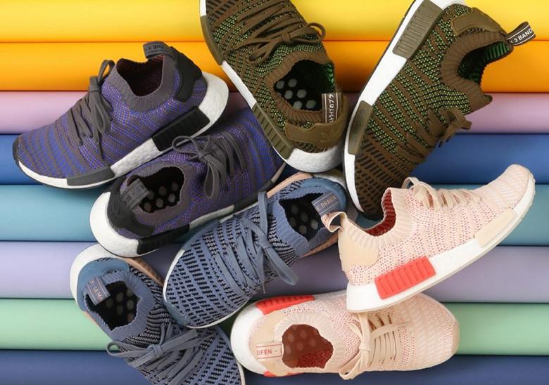 adidas Originals Schuhe NMD R1 STLT PK W Raw SteelAsh