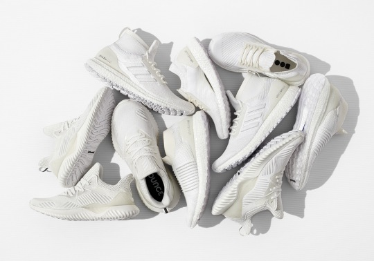 "adidas Running Presents The All-White ""Undye"" Pack"