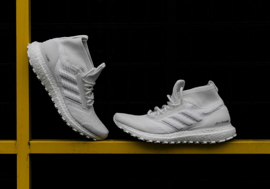 "The adidas Ultra BOOST ATR Mid Is Coming Soon In ""Triple White"""