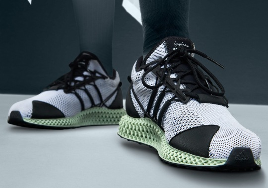 The adidas Y-3 Runner 4D Is Releasing Soon