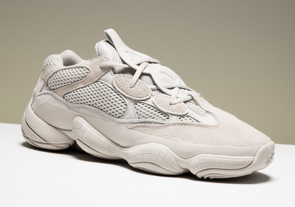 "ebcc0414d210f adidas Yeezy 500 Desert Rat. Store List For The adidas Yeezy 500 ""Blush"""