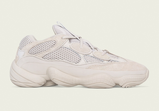 "Release Info For The adidas Yeezy 500 ""Blush"""