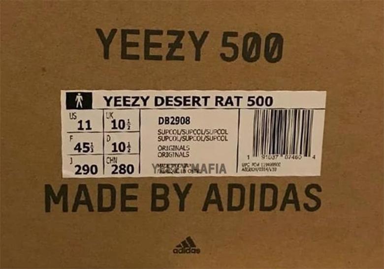 https   www.facebook.com sneakernews videos 10160081968200158  –. Source   theyeezymafia. adidas Yeezy Desert Rat 500 bde10df90d