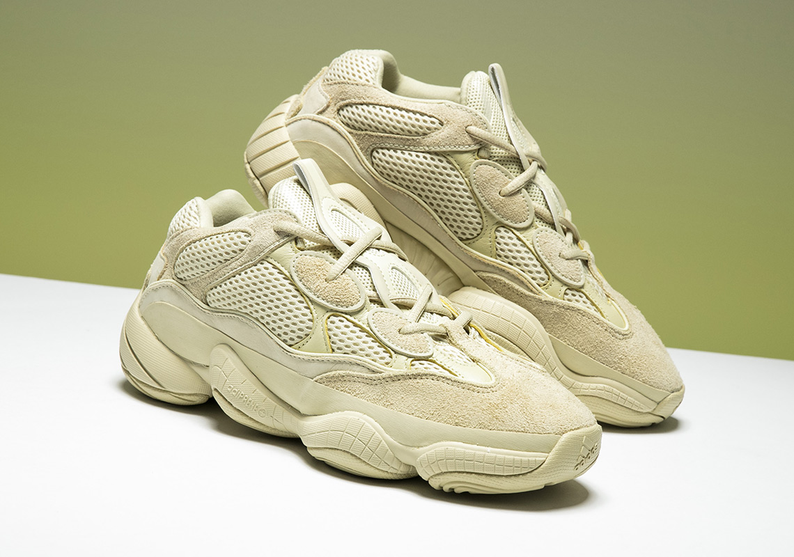 "7bd0637aa2a01 Up Close With The adidas Yeezy 500 ""Super Moon Yellow"""
