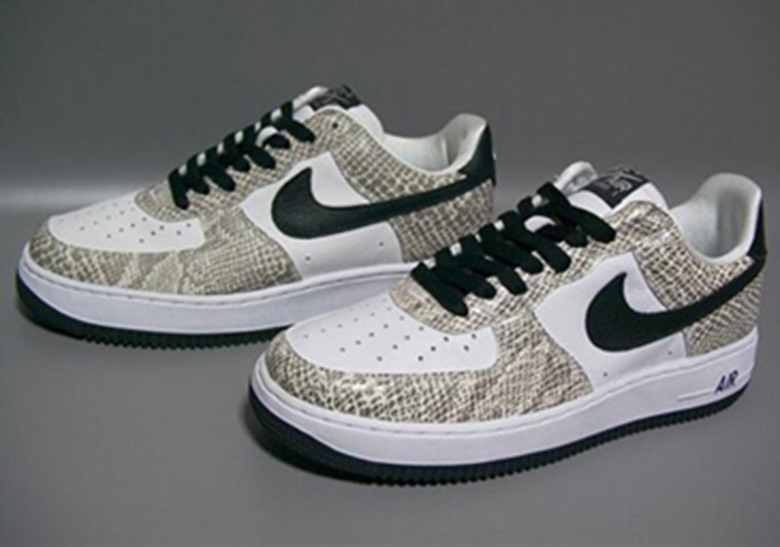 info for 11710 f1f96 ... With the sudden return of both the Hong Kong and Taiwan editions from  the early 2000s  Nike Air Force 1 Low Cocoa Snake True WhiteBlack ...