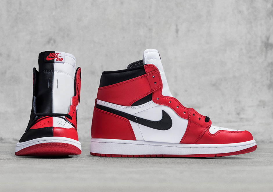 Air Jordan 1 Retro High Møre Og Chicago 2018 Hendelser uC6JBsg