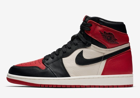 """Early Access: Air Jordan 1 """"Bred Toe"""""""