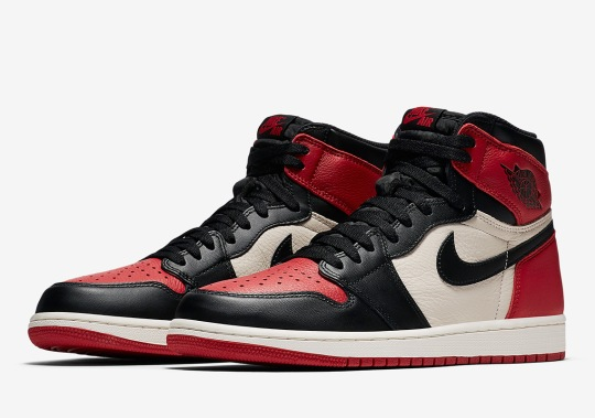 "Air Jordan 1 Retro High OG ""Bred Toe"" Is Coming After All-Star Weekend"