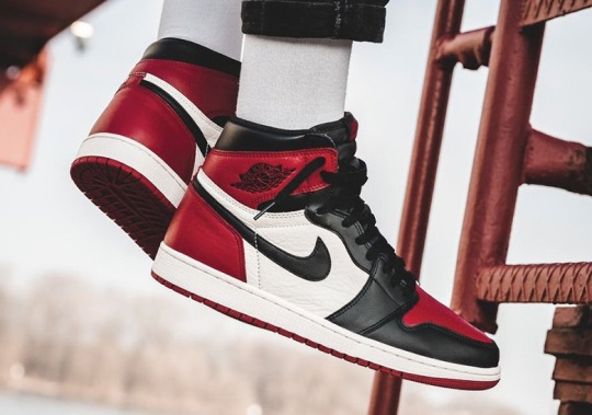 "Air Jordan 1 ""Bred Toe"" Officially Releases Tomorrow"