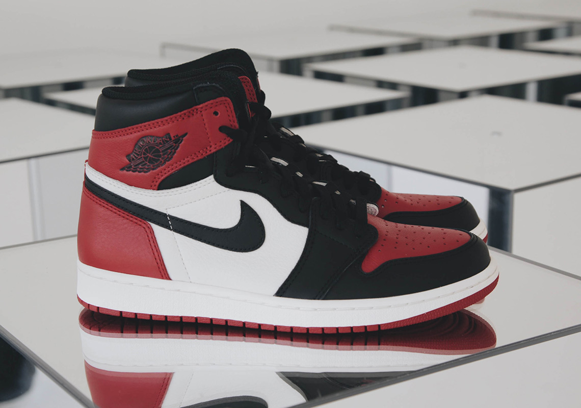 air jordan 1 bred toe men nz