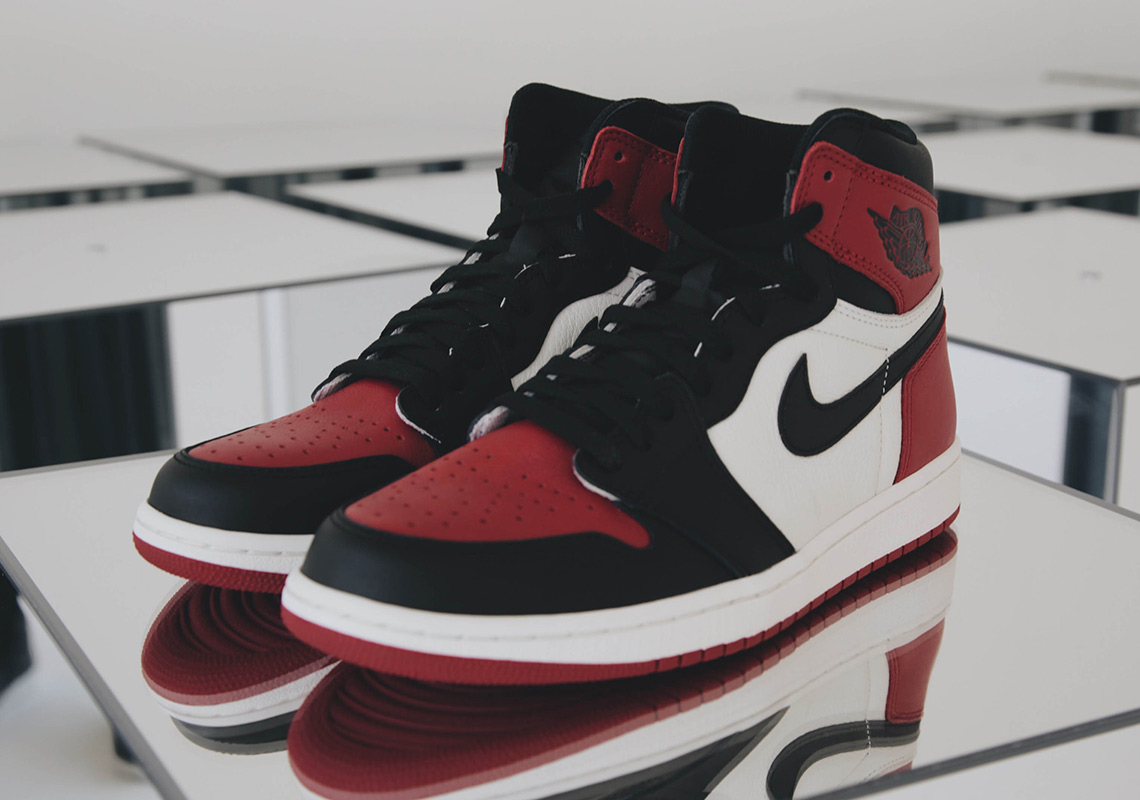 air jordan 1 bred toes nz