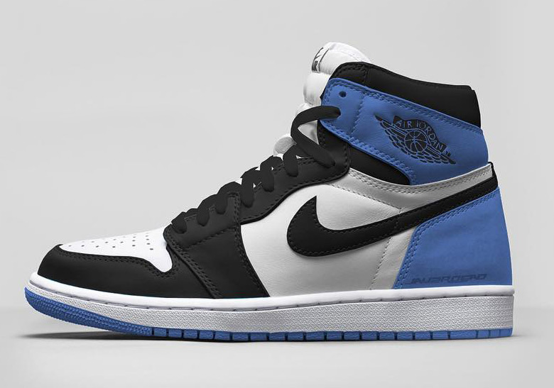 "promo code a87f7 0c7f5 Air Jordan 1 Retro High OG ""Blue Moon"" Release Date  April, 2018  160.  Color  Summit White Black-Blue Moon"
