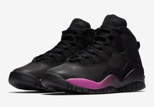 "Air Jordan 10 ""Purple Fade"" Releasing This Saturday"