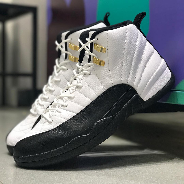Air Jordan 12. Release Date: March 18, 2018 $190. Color: White/Black-Taxi