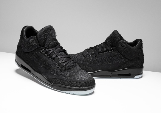new photos e55bf f9909 Air Jordan 3 Flyknit - August 18th Release | SneakerNews.com