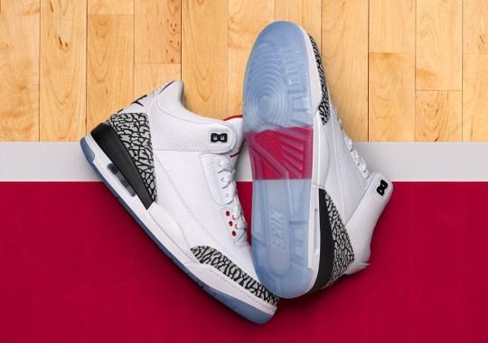 "Air Jordan 3 ""Free Throw Line"" Release Info"