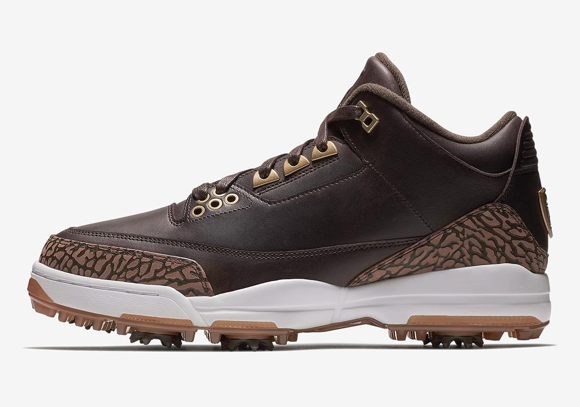 744f3207d884 Air Jordan 3 Golf Shoe Release Date  February 16