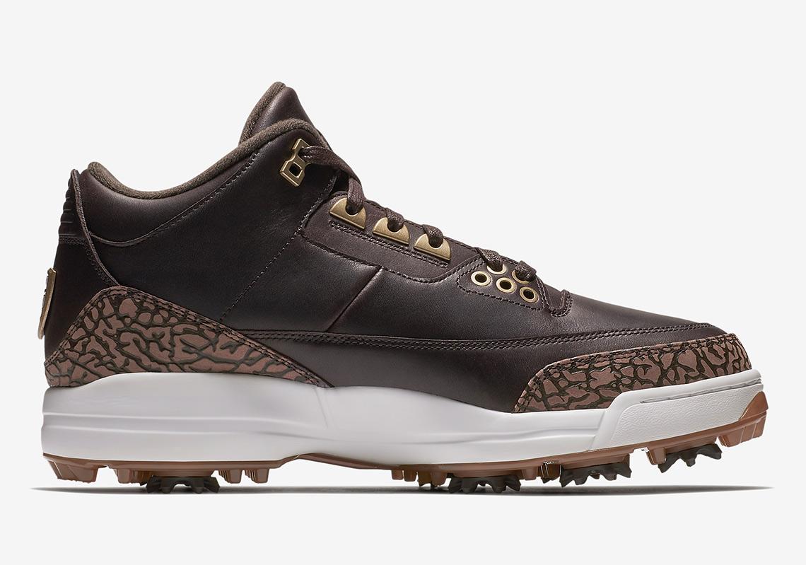 Air Jordan 3 Golf Shoe Release Info Sneakernews Com