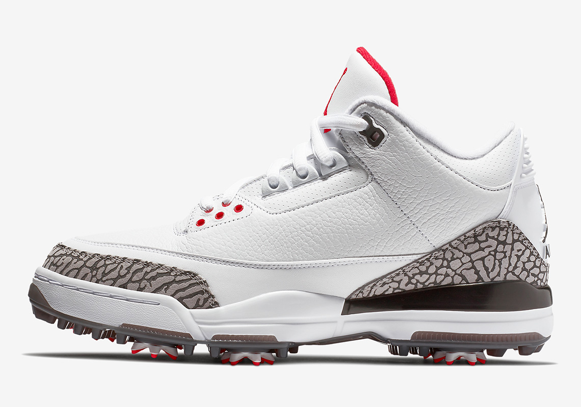 Air Jordan 3 Golf Shoe Release Date  February 16 6d7a29598