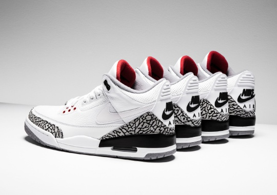 Stadium Goods And Sneaker News Giving Away Four Pairs Of Air Jordan 3 JTH