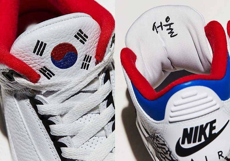air jordan 3 korea editions
