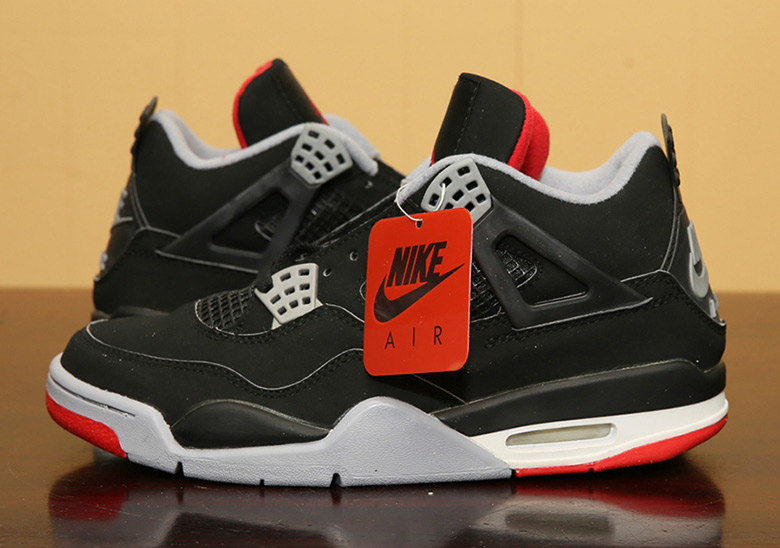 air jordan iv bred 2019 chevy