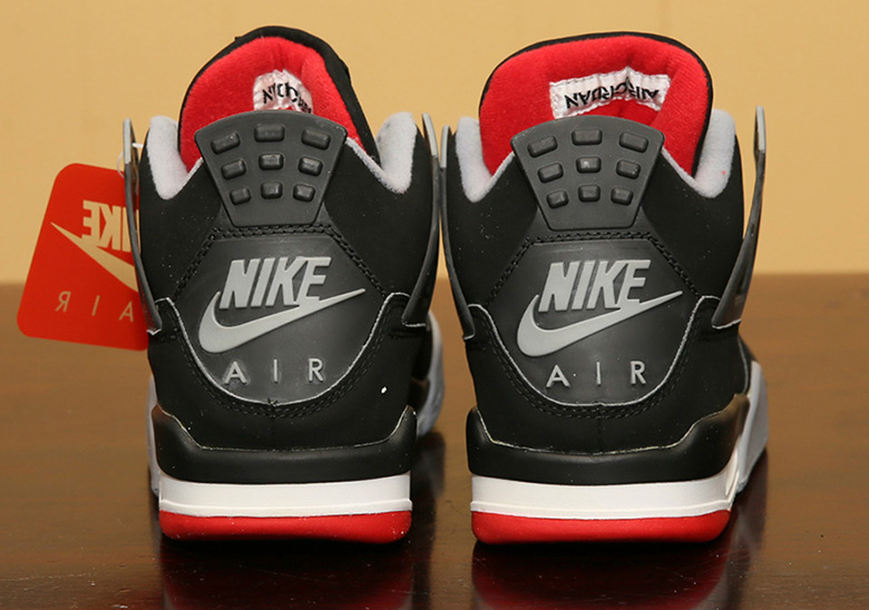 """buy online 544c4 074b5 Advertisement. Advertisement. Pictured above is the Air Jordan 4 """"Bred""""  from 1999"""