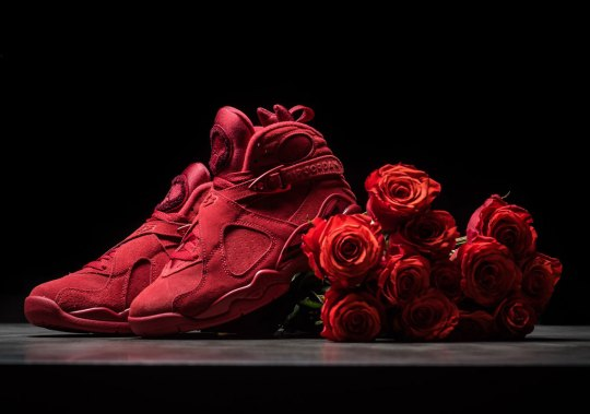 "Win Her Over With The Air Jordan 8 ""Valentine's Day"""